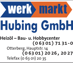 Hubing Baustoffe, Hauptstraße 14, 67697 Otterberg, Tel.: 06301 2026